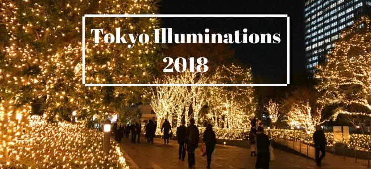 meilleures illuminations de Tokyo 2018