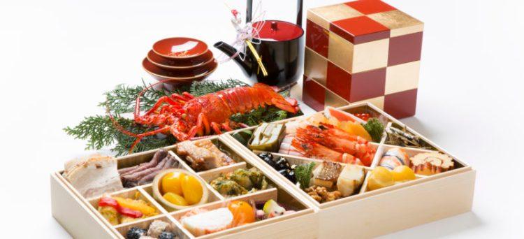 Osechi ryori culinária tradicional japonesa de ano novo