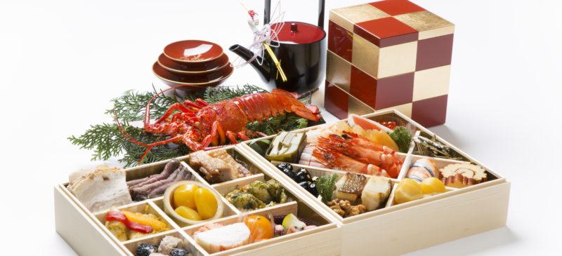 Japansk nyårsmat Osechi ryori