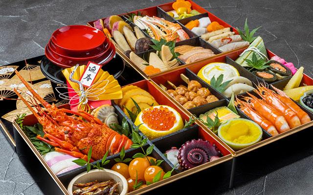 Exempel på Japansk nyårsmat