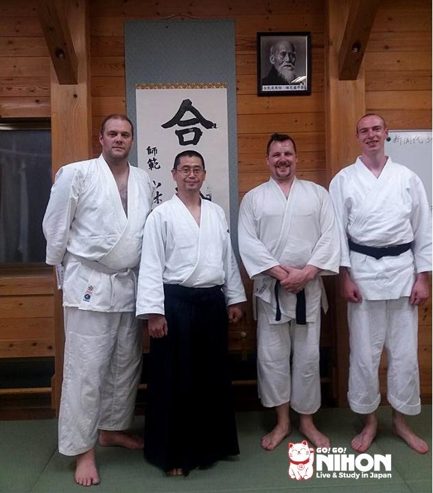 Matthew after Aikido training