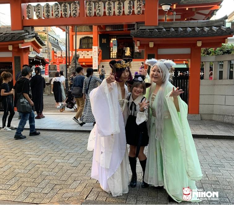 Baneneko festival in kagurazaka