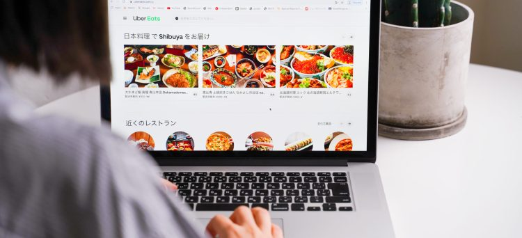 Online Essen bestellen in Japan