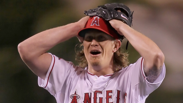 Los Angeles Angels Jered Weaver