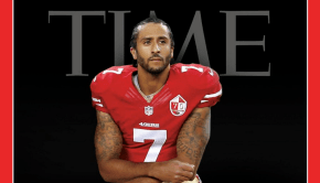 Colin Kaepernick on the Cover of Time Magazine