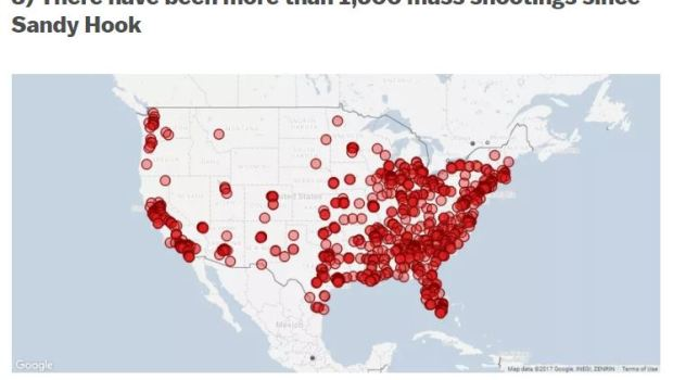 Mass Shootings in America since Sandy Hook