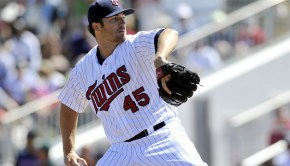 Minnesota Twins Phil Hughes