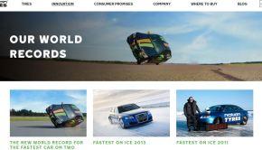 Nokian Tyres World Records Website Screenshot