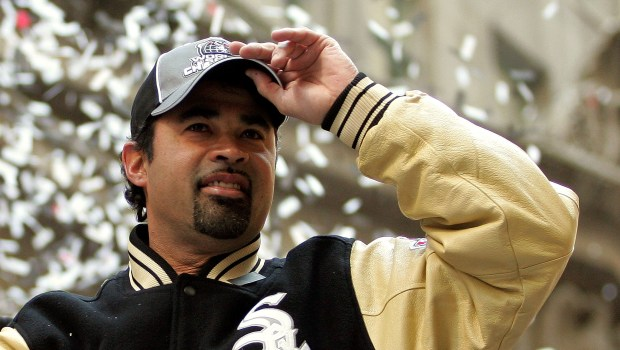 Ozzie Guillen at Chicago White Sox Victory Parade