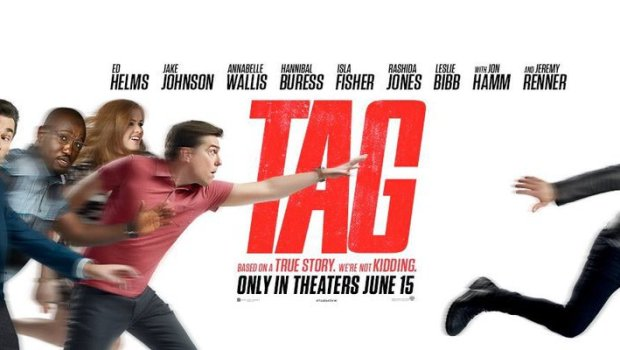 Tag Official Movie Poster Warner Brothers Pictures