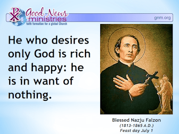 Daily Blessing Saint Quote