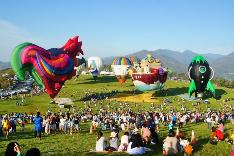 台東熱氣球,台東熱氣球時間,台東熱氣球費用