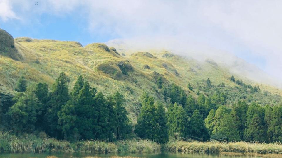 陽明山,陽明山花季,夢幻湖步道