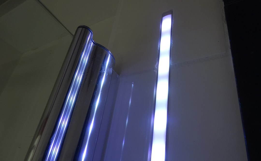 Woonidee: een led strip in de badkamer - Go Gracy DIY en Lifestyle blog