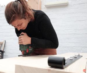 DIY Zo maak je zelf een poort van steigerhout