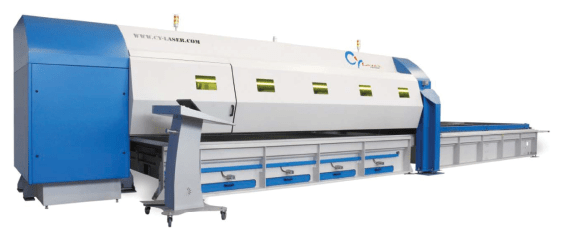 Fiber Optic Laser Cutting System