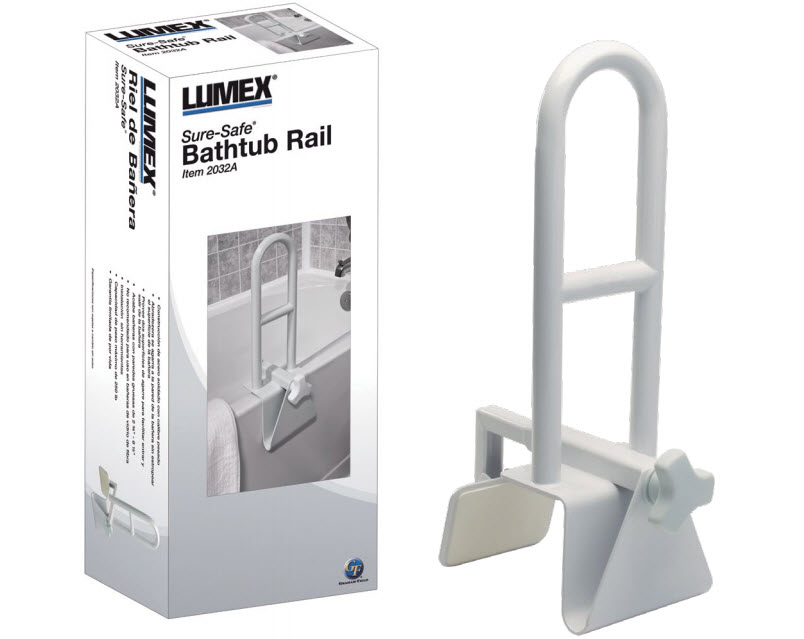 lumex bath safety rail graham field