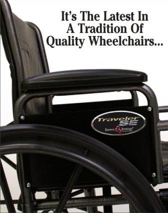 traveler se wheelchair graham-field ad