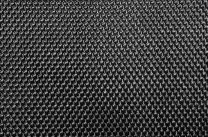 Nylon has a woven appearance.