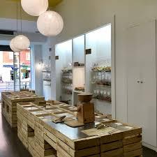 la boutique unpacked shop pour faire les courses en vrac à Madrid