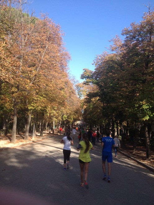 Taken at X Carrera Popular Distrito de Retiro, 26th October 2014.