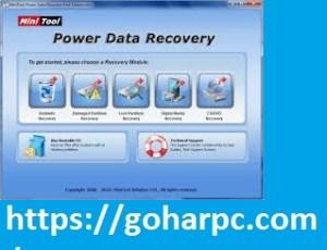 MiniTool Power Data Recovery 8.7 Crack + Keygen 2020