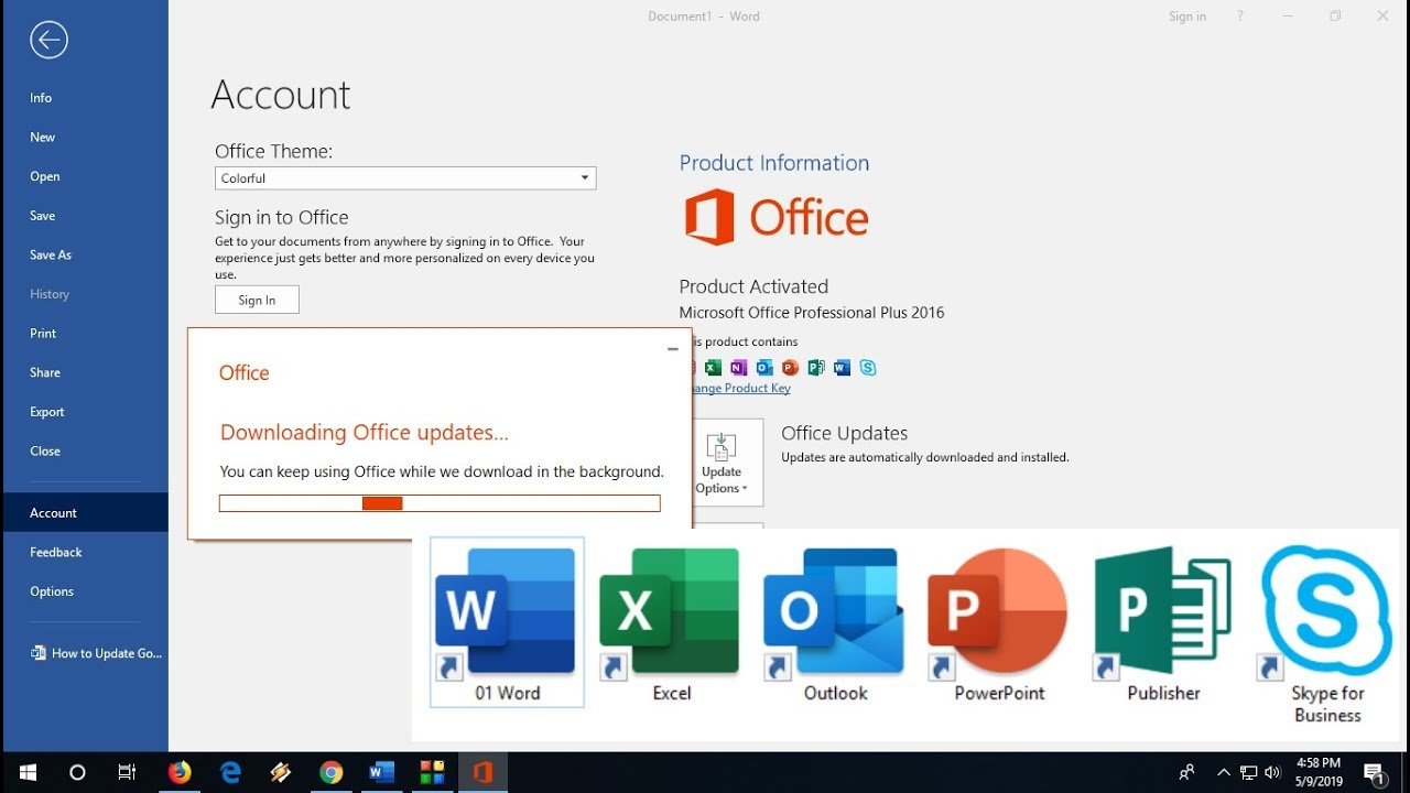 Microsoft Office 2019 Product Key With Crack Full Version Free Download
