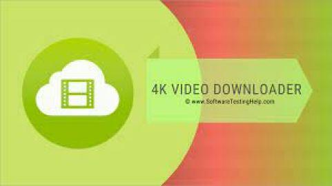 4K Video Downloader Crack 2022 Full Version Free Download