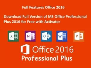 Microsoft Office Professional Plus 2016 Activator