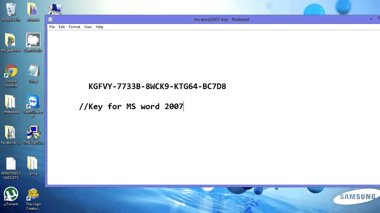 Microsoft Office 2007 Key Free Download Now For 64 Bit Windows