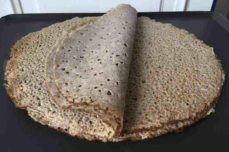 Buckwheat crepes (gluten free, vegan)