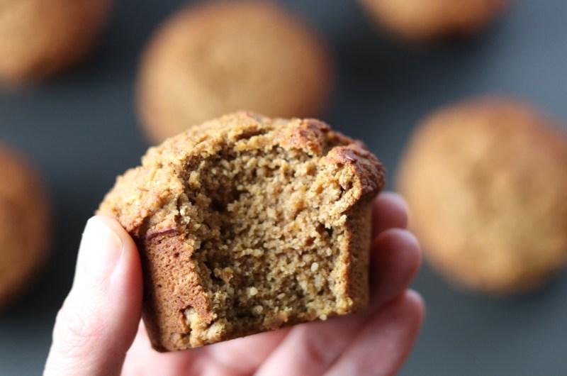 Pumpkin muffins (Coconut free, AIP, paleo, vegan)
