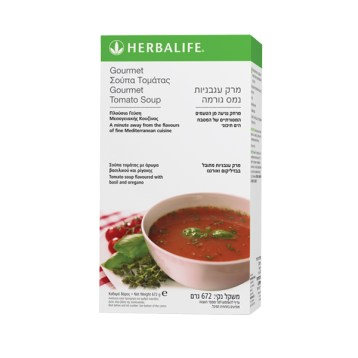 Gourmet Tomato Soup Tomato Pack of 21 servings 672 g - Go Herbal Plan