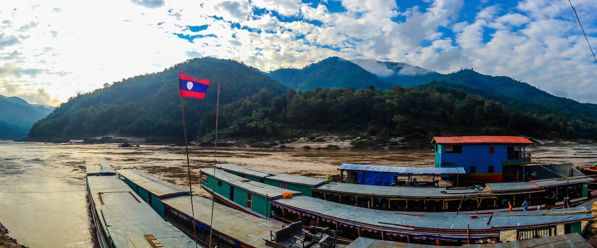 Cruisin' down the Mekong
