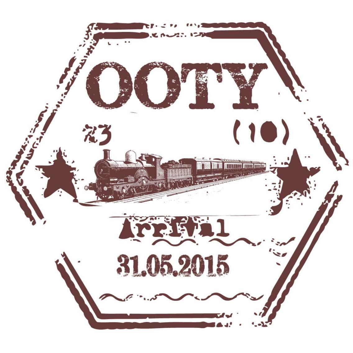Ooty Passport Stamp