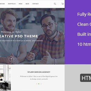 Sylor – Agency/Portfolio HTML Template