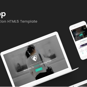 Horse App – HTML Responsive Template