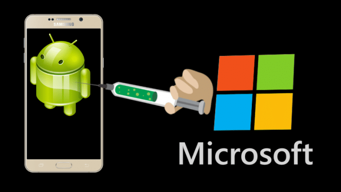 Microsoft Is Injecting Ads To Install Its Other Apps In Android