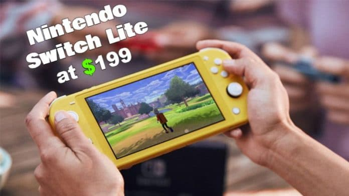 Nintendo Announces 'Switch Lite' Handheld Video Game For $199