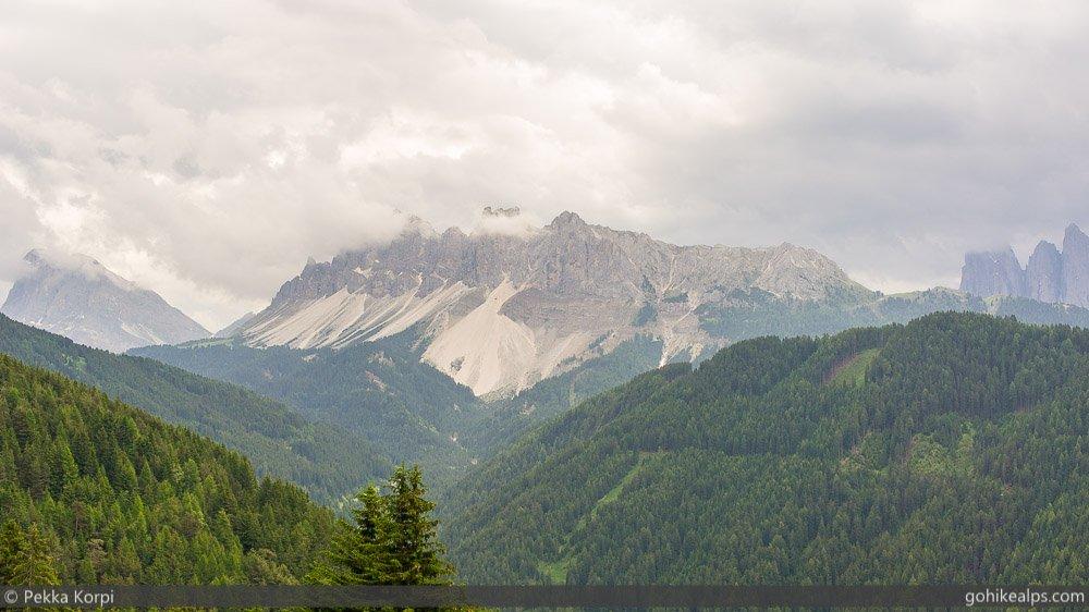 Cloudy Skies Near Brixen