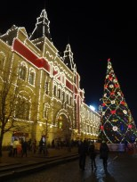 Gum and Red Square's main tree