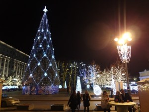 Along the Tverskaya Street