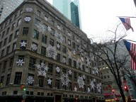 Fifth Avenue takes on the spirit of Winter.