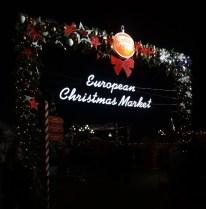 European Christmas Market at the Okhotny Ryad