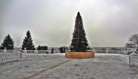 Archangelskoye - terrace & yolka
