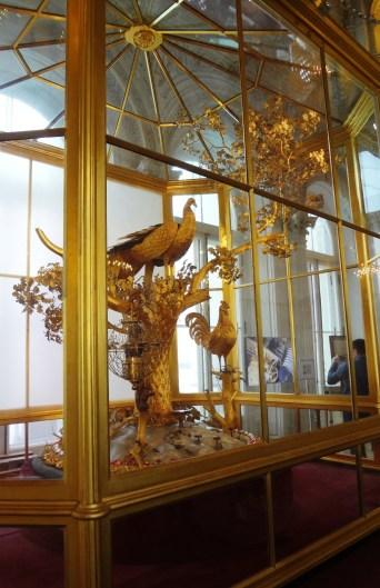 Golden Peacock Clock, Winter Palace