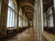 Hall of Mirrors and Italian frescoes, Winter Palace