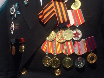 Soviet Army medals and orders
