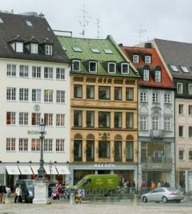 Munich old town rebuilt