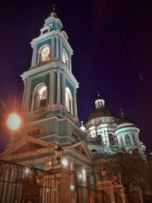 Baroque church in Moscow